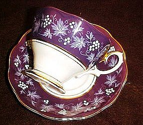 Royal Albert Chateau cup and saucer, Rouen