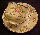 Royal Albert petit point cup and saucer set