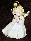 Lefton bisque angel figurine #1420