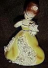 Vintage ceramic girl figurine, Josef Original?