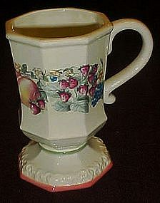 Sweet Country Harvest pedestal mug / cup Avon