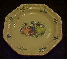 Sweet Country Harvest salad plates,  Avon