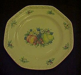 Sweet Country Harvest dinner plate, Avon