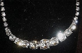 Austrian crystal rhinestone necklace