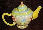 Oneida ceramic teapot, Mary Englbright style