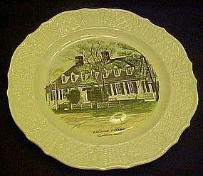 Historical Williamsburg, Raleigh Tavern plate