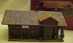 Hallmark Sarah Plain and tall Hays train station 1994