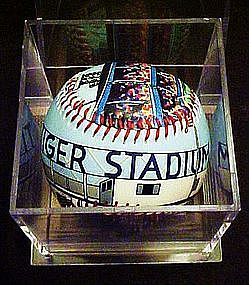 Limited Edition, Tiger Stadium baseball, Unforgetaball
