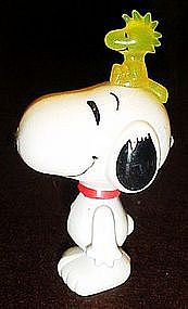 Snoopy figure with light up Woodstock