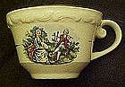 Colonial couple style cups, marked Lofisa