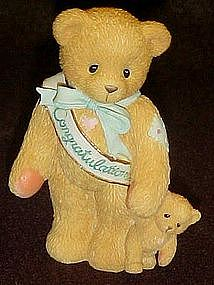 Enesco Cherished Teddies, This calls for a celebration