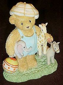Enesco cherished Teddies, Brent, Good friends are .....