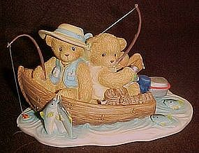 Enesco Cherished Teddies,fran & Hank, You're a.........