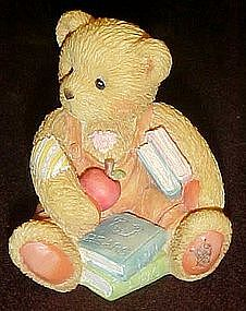 Cherished Teddies, Seth, School days, September bear