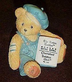 Cherished teddies, Cub E. Bear  membership figure  1995