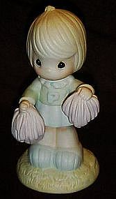 "Enesco Precious Moments, ""Cheers to the leader""  104035"