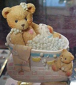 Enesco Cherished Teddies, Betty, Bubblin' over with....