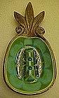 Vintage 1963 Treasure Craft  Hawaiian pineapple ashtray