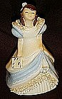 Vintage  California Caroline  girl lady figurine, Yona