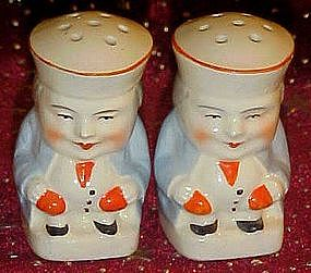Vintage Toby jug salt and pepper shakers
