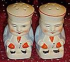 Vintage Toby jug salt and pepper shakers