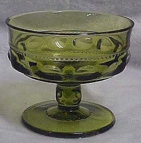 Indiana Kings crown green sherbert dessert dish