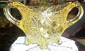 Tiara Sweet pear, canary yellow sugar bowl