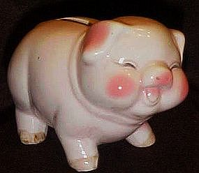 Adorable vintage china  piggy bank