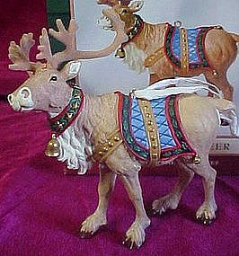 Hallmark keepsake ornament, Ready Reindeer, MIB