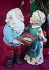 Hallmark  ornament, Gift Exchange, Mr. & Mrs. Claus