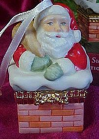 Hallmark keepsake ornament Santa's sweet surprise
