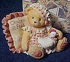 "Cherished Teddies figurine, Lori, ""those we love......."