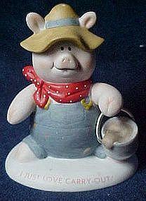Pig Tales figurine,