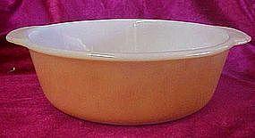 Anchor Hocking Fireking copper tint 2 qt casserole