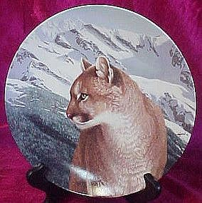 Mountain Magic, collector plate, Wild Spirits series