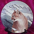 Mountain Magic, collector plate, Wild Spirits series