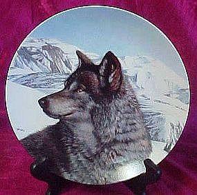 Lone Vanguard, wolf plate from Wild spirits series