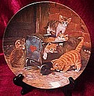 The playmates plate, Adventures on velvety paws series