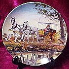 Surry with the fringe on top, collector plate, Oklahoma