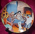 Time to Play, collector plate by Turi MacCombie