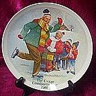 The Skating Lesson, Csatari Grandparent Plate 1981