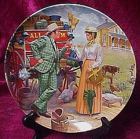 I can't say No, plate by Mort Kunstler, Oklahoma
