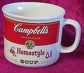 Campbell's soup mug, HOMESTYLE
