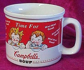 Campbell's soup mug, Time for campbell's soup