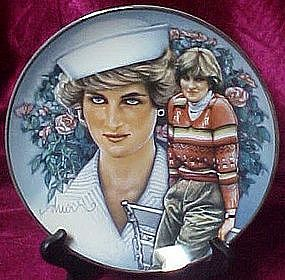 Diana Princess of Wales, Shi Di, Franklin Mint plate