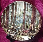 Sunlit Retreat collector plate, from God Bless America