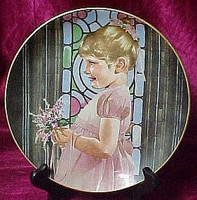 Bridesmaid plate by Liz Moyes, Danbury Mint
