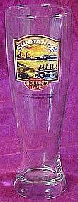 Sundance Amber ale, Boulder Beer pilsner beer glass
