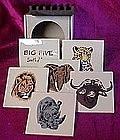 Big Five, Safari animal coaster set
