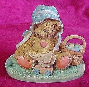"Cherished Teddies Henrietta  ""A basketful of wishes"""